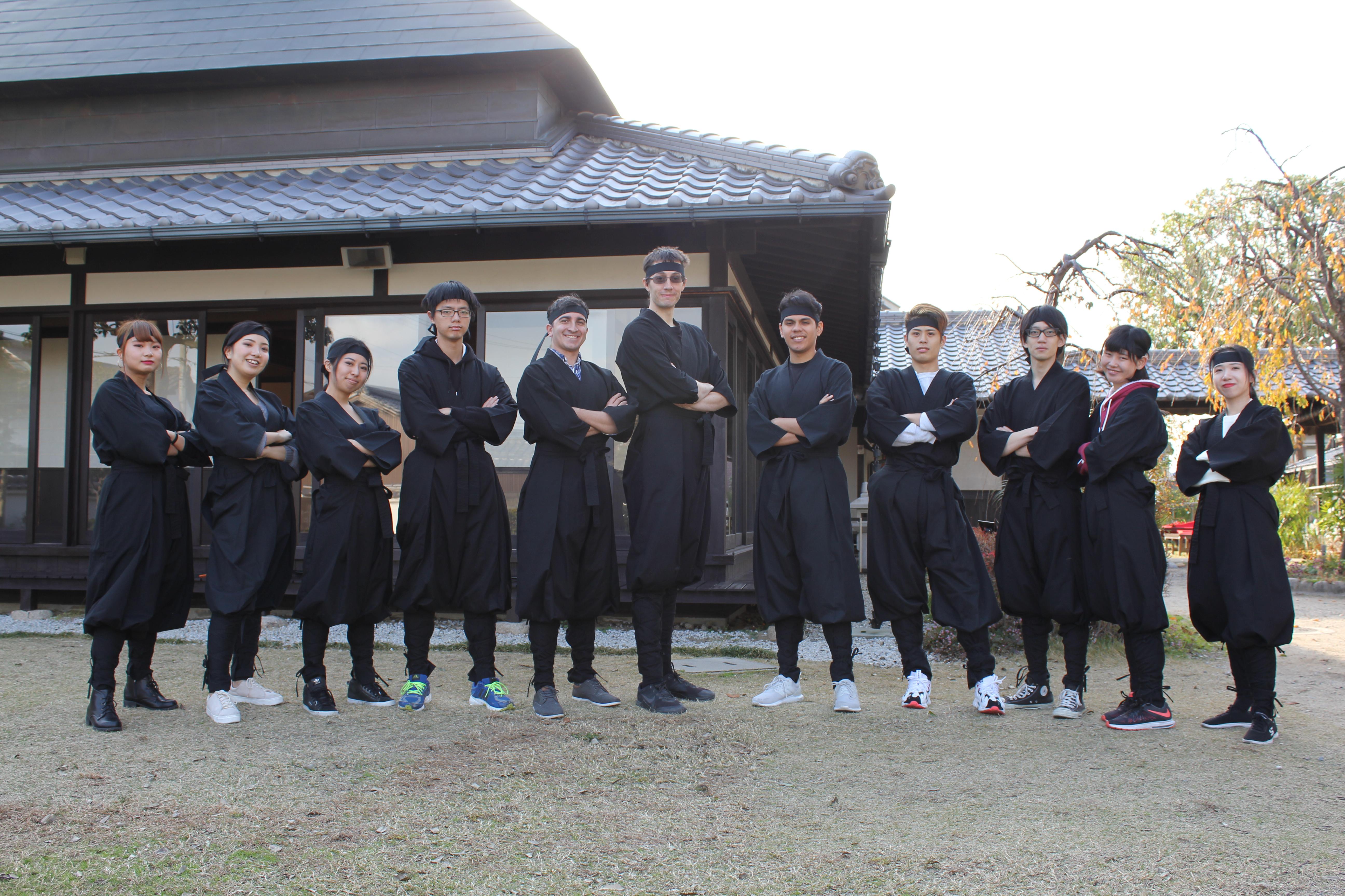 2018.11.30 Historic Ninja walking tour in TAKAHAMA SHRINE