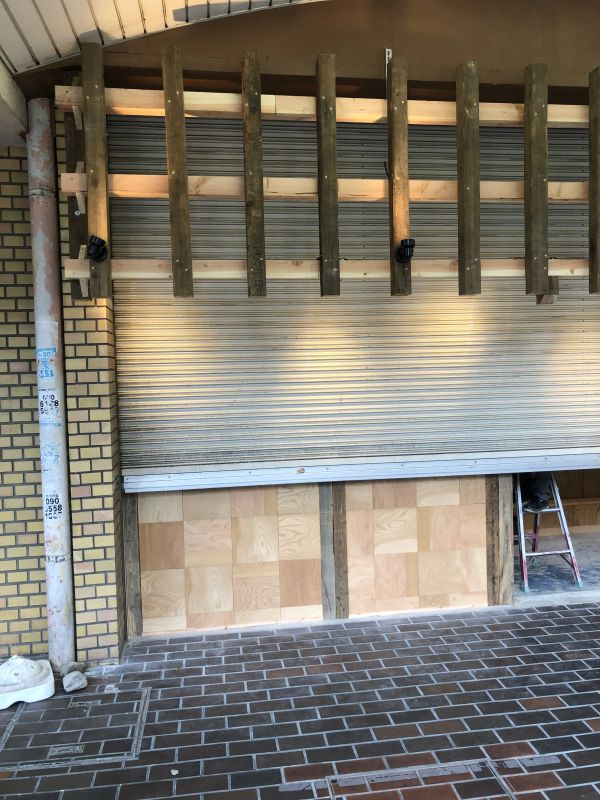 開店情報:JR吹田駅ビルの空き店舗跡が工事されていました。